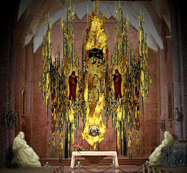 Gdańsk Old Town (Amber Altar of St. Bridget's), photo from site http://www.brygida.gdansk.pl